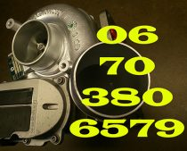 Peugeot 407 HDi 2.7 D Turbófeltöltő Nr. 723340
