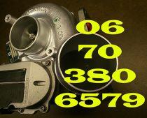 Peugeot 607 HDi 2.7 D Turbófeltöltő Nr. 723340